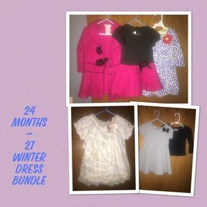 Other - 24 Months-2T winter dress bundle